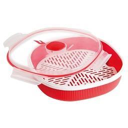 Cozedor micro-ondas a vapor p/ arroz 2 l