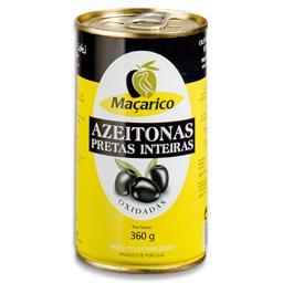 Azeitona preta em lata