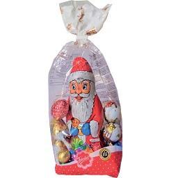 Sortido de chocolates de natal