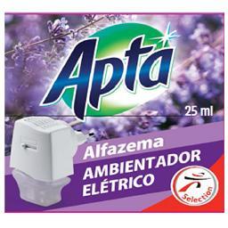 Ambientador elétrico + recarga alfazema