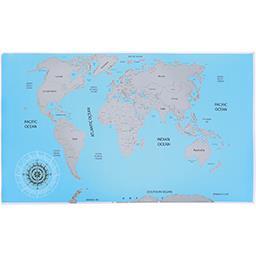 Mapa Mundo p/ Raspar