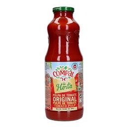 Polpa de tomate em garrafa