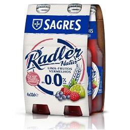 Radler frutos vermelhos 0%