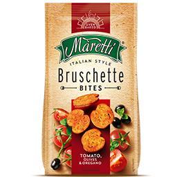 Bruschette tomate/azeite/oregãos