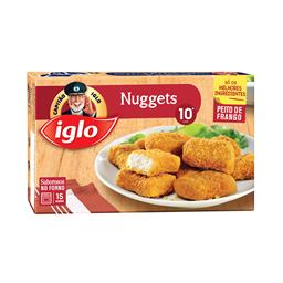 10 nuggets de frango
