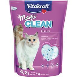 Areia p/ Gato Sílica Magic Clean