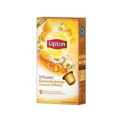 10 cápsulas infusão camomila & orange honey