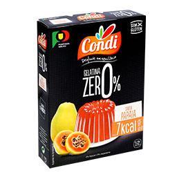 Gelatina zero papaia