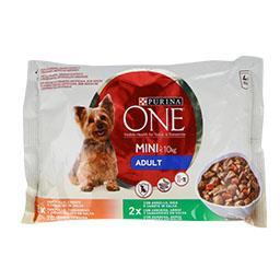 Comida húmida para cão em saquetas de frango/borrego