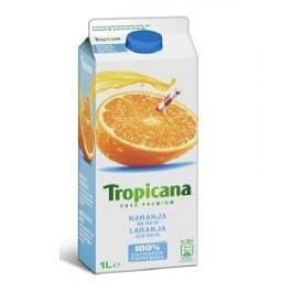Zumo trop naranja sin pul 1l