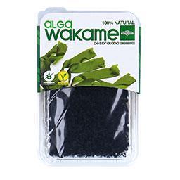 Alga wakame desidratada