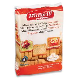 Mini tosta trigo