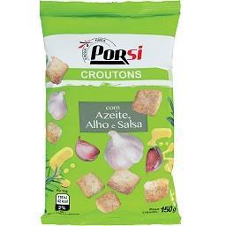 Croutons azeite e alho 150g