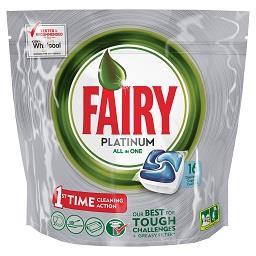 Detergente pastilhas p/ Máquina Loiça Platinum Azul