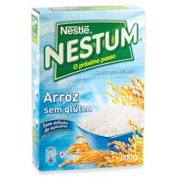 Nestum flocos de cereais, arroz
