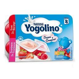Yogolino sobremesa láctea mrg framboesa 60g