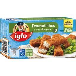 Douradinhos cereais integrais, 10 unidades