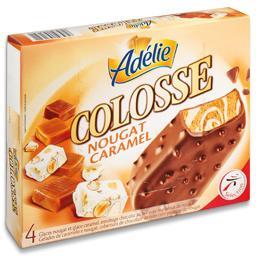 Gelado colosse nougat/caramelo