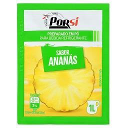 Refresco em pó de ananás