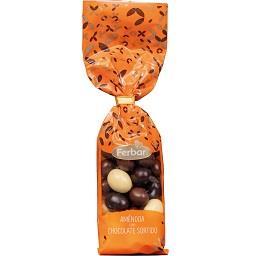 Amêndoas de chocolate sortido