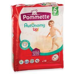 Fraldas cuecas autonomy, tamanho 6, +16 kilos, 18 un...