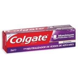 Pasta dentifríca, máxima proteção branqueadora