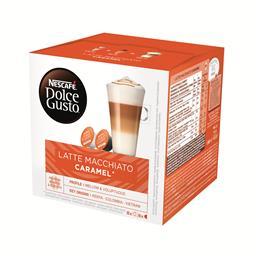 Café em cápsulas dolce gusto macchiato caramelo