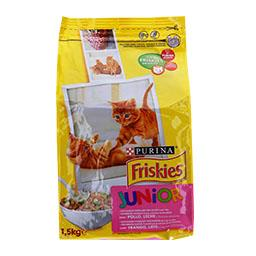 Ração para gato júnior com frango