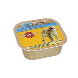 Alimento húmido para cão junior