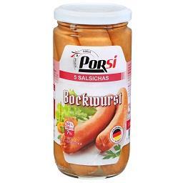 Salsicha bockwurst 5 unidades