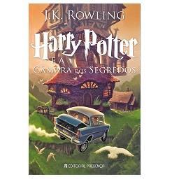 Livro Harry Potter e a Câmara dos Segredo de J.K. Ro...