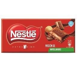 Tablete de chocolate extra fina leite/avelã