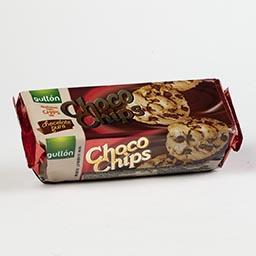 Bolachas cookies, choco chips negro
