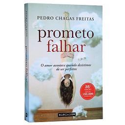 Livro Prometo Falhar de Pedro Chagas Freitas