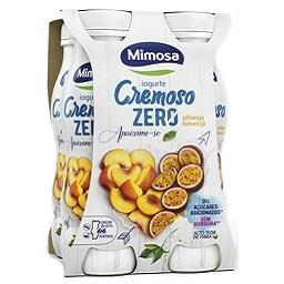Iogurte líquido cremoso zero pêssego/maracujá