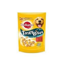 Snack cão tasty bites cheesy