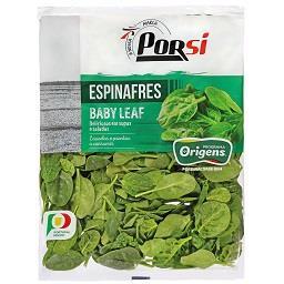 Espinafre baby leaf Programa Origens