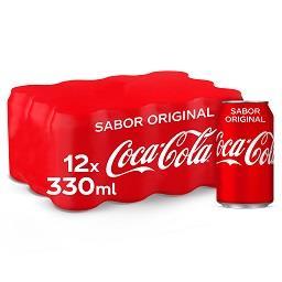 Refrigerante de cola, em lata