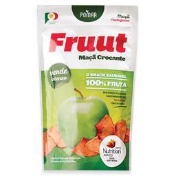 Snack maçã verde intenso