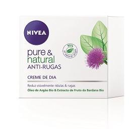 Creme Rosto Dia Antirrugas Pure & Natural