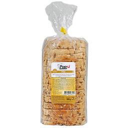 Pão de trigo com flocos de cereais e sementes de gir...