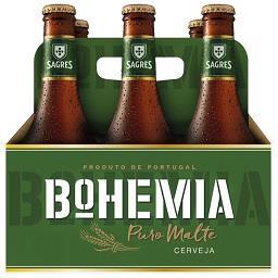 Cerveja bohemia puro malte