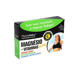 Magnésio + vitaminas