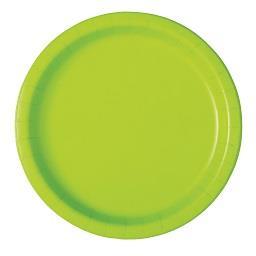 Pratos neon verdes