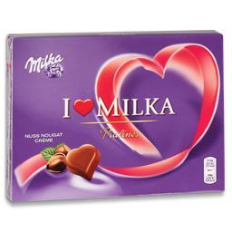 Bombons de chocolate i love, nuss nougat