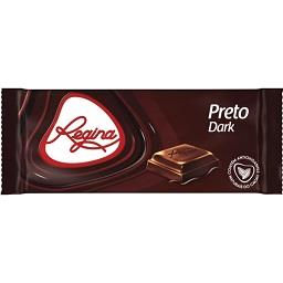 Tablete de chocolate preto