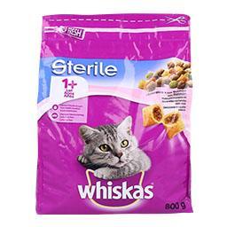Alimento seco para gato sterile, salmão