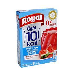 Gelatina melancia 10kcal 31g