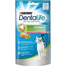 Snack salmão de higiene oral diária para cão