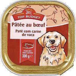 Alimento húmido para cão, carnes